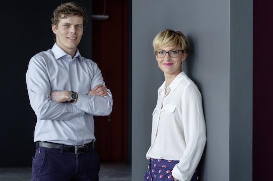 Rhebo managing directors Klaus Mochalski and Kristin Pressler are pleased with the acquisition. Photo: PR/Christoph Busse for Rhebo